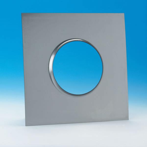 "8"" Ventinox 13"" x 13"" Top Plate, 18-ga., 304-alloy"