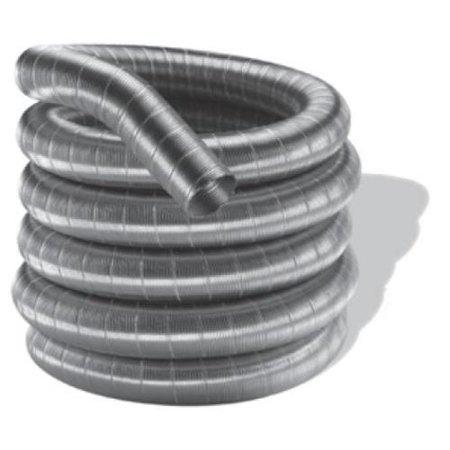 """3"""" X 15' DuraFlex 304-Alloy Stainless Steel Liner - 3DF304-15"""