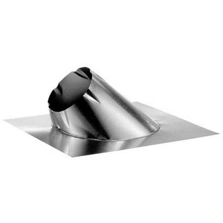 "7"" DuraPlus Galvalume 0/12 - 6/12 Roof Flashing - 7DP-F6"