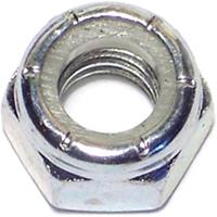 Midwest 03650 Hex Locknut, 5/16-18, Nylon Insert, Zinc Plated