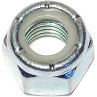 Midwest 03653 Hex Locknut, 1/2-13, Nylon Insert, Zinc Plated