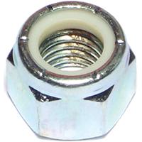 Midwest 03655 Hex Locknut, 5/8-11, Nylon Insert, Zinc Plated