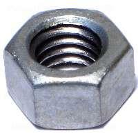 Midwest 05617 Hex Nut, 3/8-16, Hot Dip Galvanized