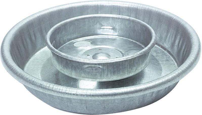 1 Quart Round Metal Watering Base
