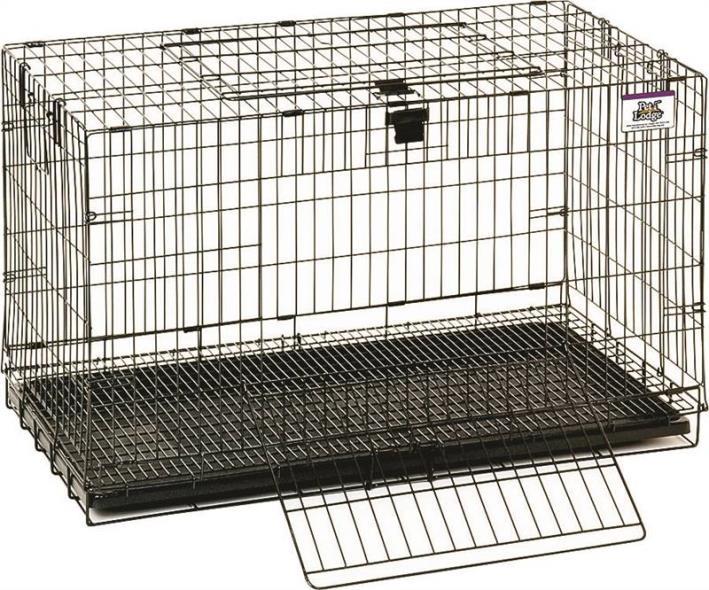 Pet Lodge 150910 Pop Up Rabbit Cage, 31 in L X 20 in W X 17 in H, Chew Proof Metal