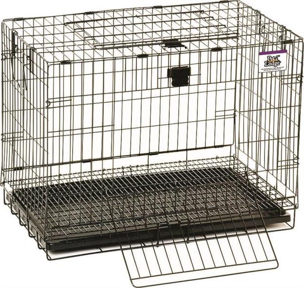 Pet Lodge 150903 Pop Up Rabbit Cage, 25 in L X 16 in W X 19 in H, Chew Proof Metal