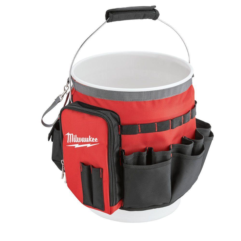 BAG ORGANIZER BUCKET RED/BLACK