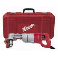 Milwaukee 3107-6 Heavy Duty Right Angle Corded Drill Kit, 120 V, 7 A, 1/2 in Keyed Chuck