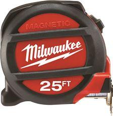 MILWAUKEE� MAGNETIC TAPE MEASURE, 25 FT.