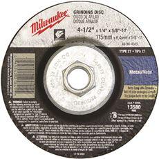 MILWAUKEE GRINDING WHEEL 4-1/2 IN. X 1/8 IN. X 5/8-11 IN. TYPE 27