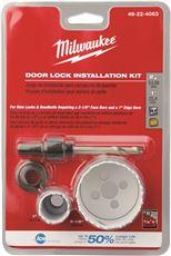 MILWAUKEE DOOR LOCK HOLE SAW KIT