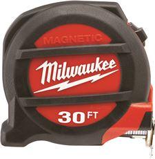 MILWAUKEE� MAGNETIC TAPE MEASURE, 30 FT.