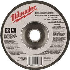 MILWAUKEE CUTTING WHL 6 IN. X .045 IN. X 7/8 IN. TYPE 27
