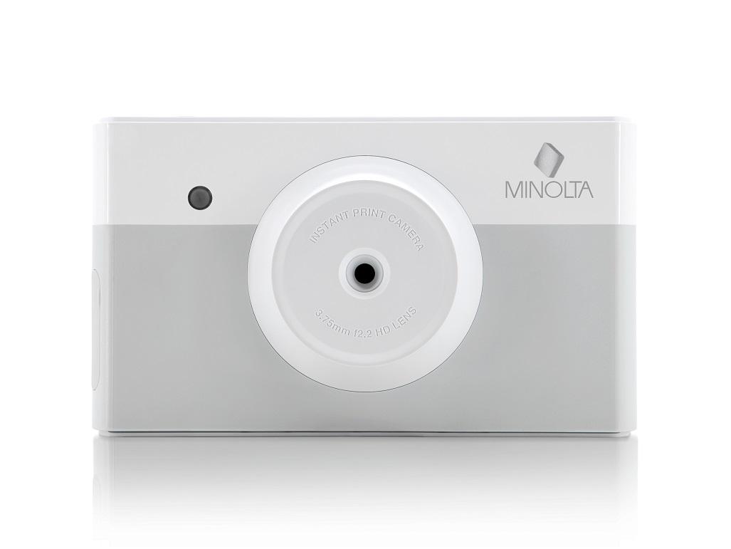 MINOLTA MNCP10-GY GRAY INSTAPIX INSTANT PRINT DIGITAL CAMERA