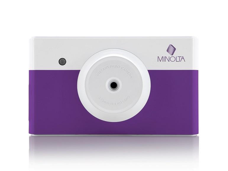 MINOLTA MNCP10-PP PURPL INSTAPIX INSTANT PRINT DIGITAL CAMERA