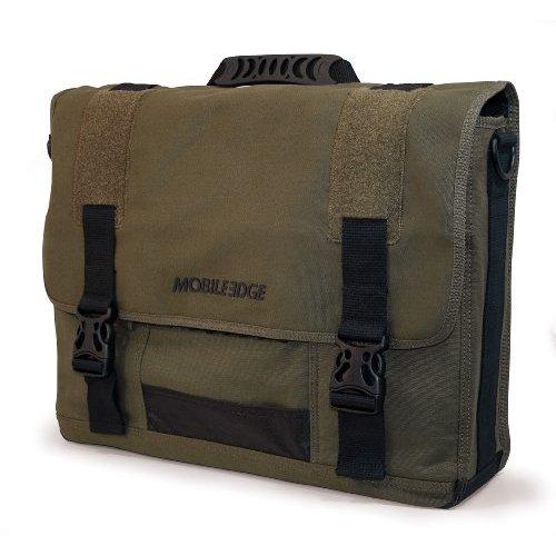 "MOBILE EDGE MECME9 17.3"" ECO Messenger Bag (Green)"
