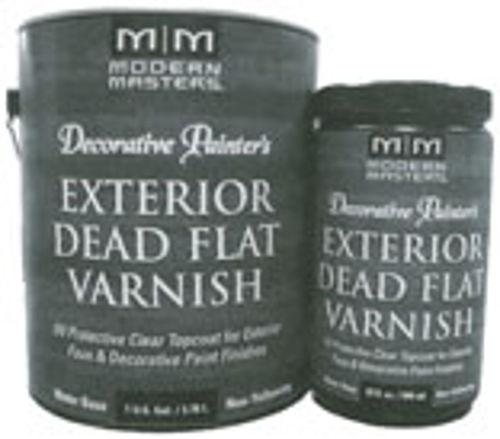 Dp612-Gal Exterior Dead Flat Varnish, 1-Gallon