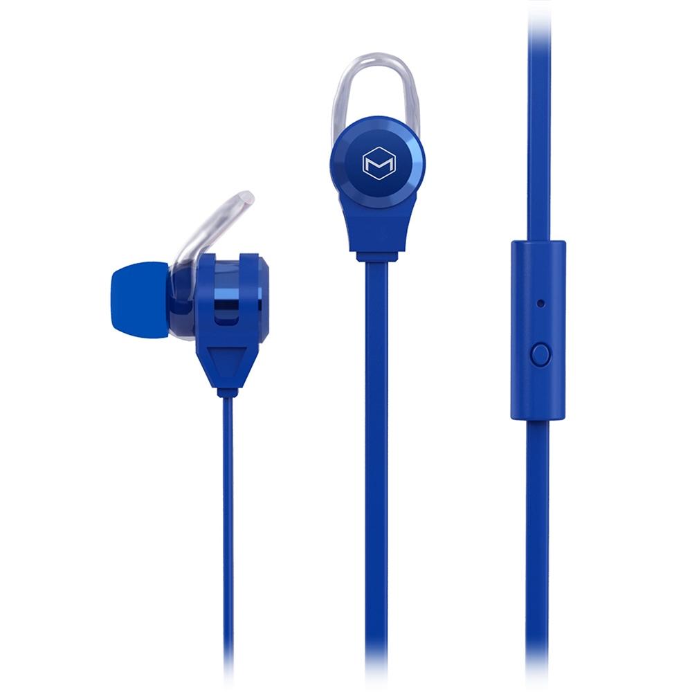 MQBIX MQET39BL BLUE PLATINUM2 HIGH PERFORMANCE EARPHONES