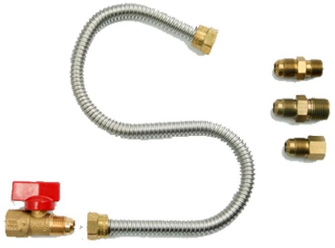 F271239 GAS APPL HOOK UP KIT