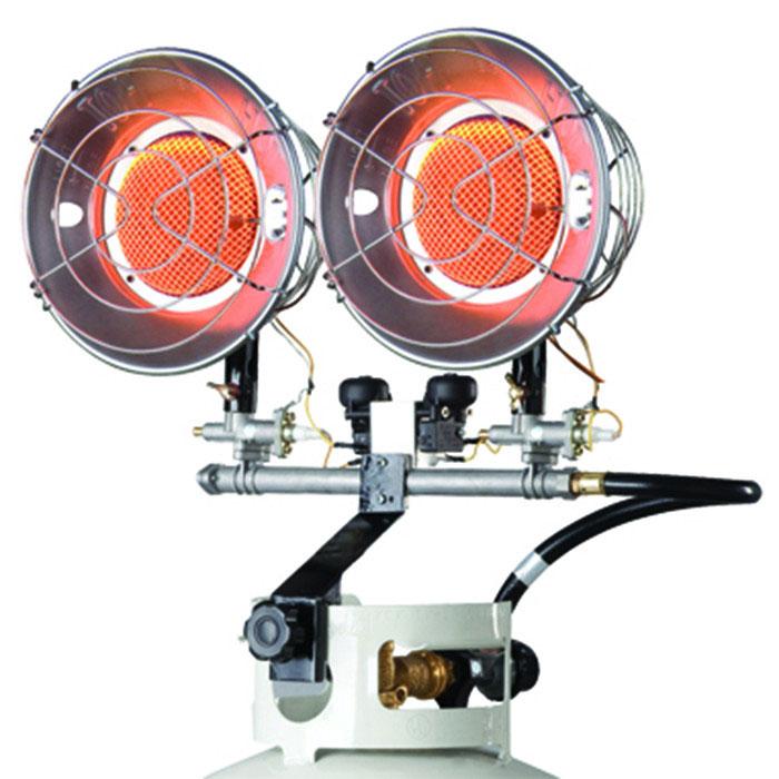 Mr Heater Double Tank Top 10000 - 30000 BTU Liquid Propane Heater w/Spark Ignition