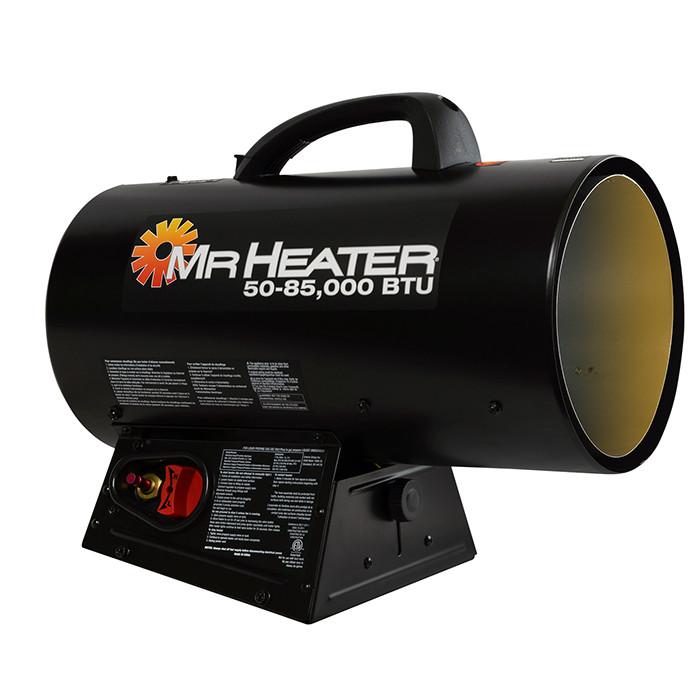 Mr Heater 50K - 85K BTU Forced Air Propane Heater with QBT
