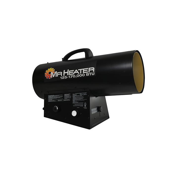 Mr Heater 125K - 170K BTU Forced Air Propane Heater with QBT