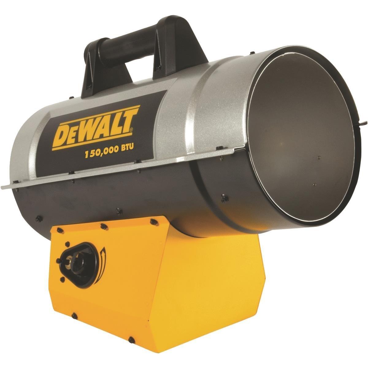 Mr Heater DeWALT 110K-150K BTU Forced Air Propane Heater (DXH150FAV)