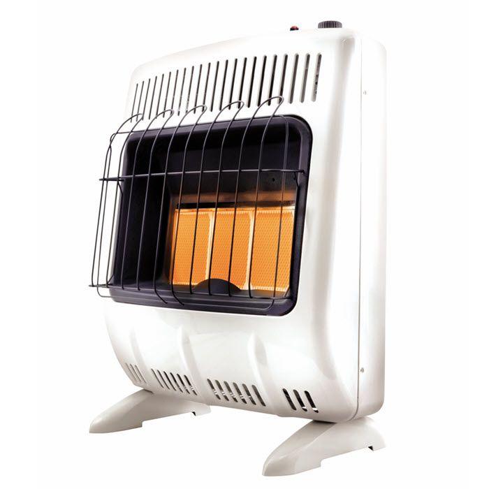 Mr. Heater Radiant Wall Heater Vent-Free White 20000 BTU