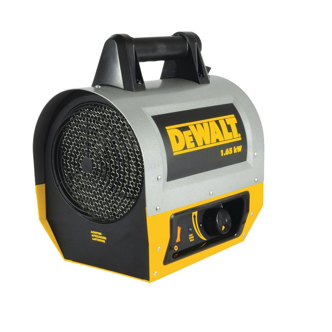 Mr. Heater DeWalt (DXH165) 5630 BTU 1.65 kW Forced Air Electric Construction Heater