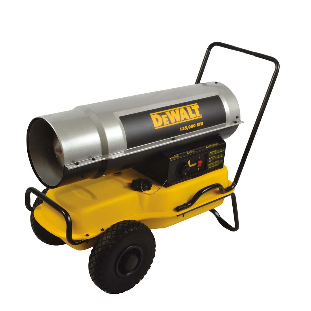 Mr. Heater DeWalt (DXH135KT) 135000 BTU Kerosene Forced Air Heater