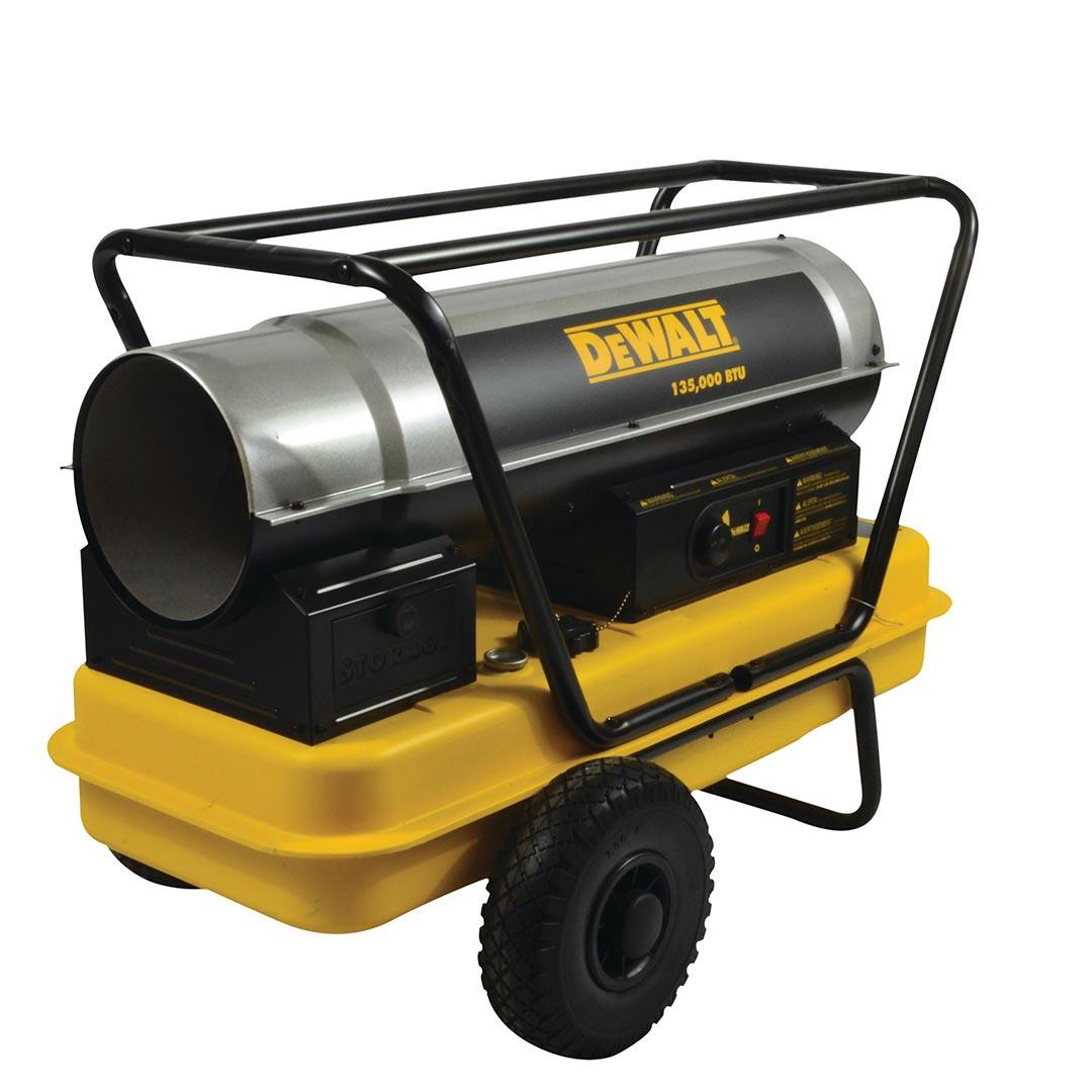 Mr. Heater DeWalt (DXH135HD) 135000 BTU Kerosene Forced Air Heater