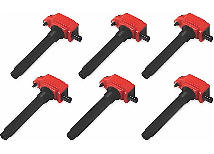 COILS RED CHRYSLER V6 11-16 6-PACK