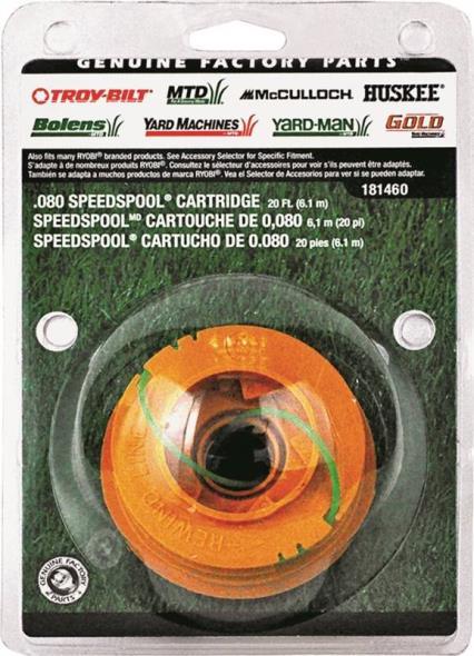 Speedspool 49U1460K953 Replacement Cartridge Speedspool, 0.08 in Diameter X 20 ft Length