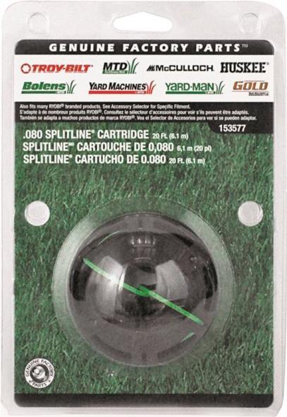 MTD 49U3577L953 Replacement Dual Line Cartridge, 0.08 in Diameter X 20 ft Length