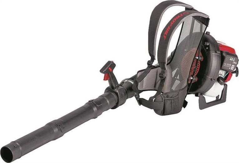 Troy Bilt TB4BP Backpack Blower, 475 cfm, 150 mph, 32 cc