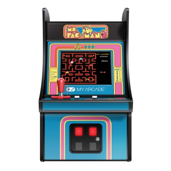 My Arcade DGUNL-3230 Micro Player Retro Mini Arcade Machine (Ms. Pac-Man)