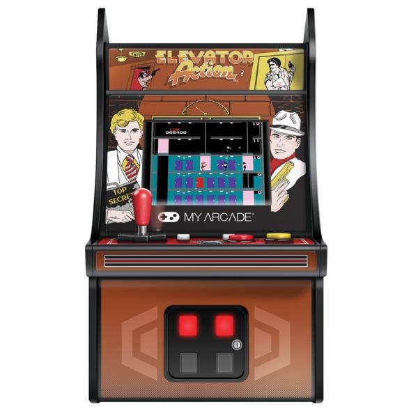 My Arcade DGUNL-3240 Micro Player Retro Mini Arcade Machine (ELEVATOR ACTION)