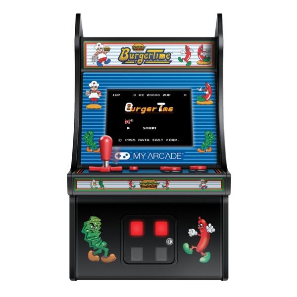 My Arcade DGUNL-3203 Micro Player Retro Mini Arcade Machine (BurgerTime)