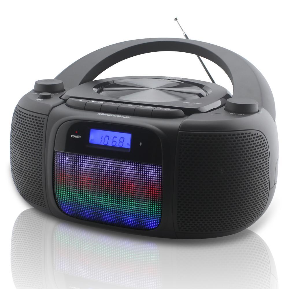 MAGNAVOX BT CD BOOMBOX WITH AM/FM RADIO