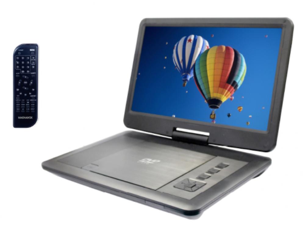 MAGNAVOX 11.6inPOR-DVD-USB/SD-2.5HR BLACK