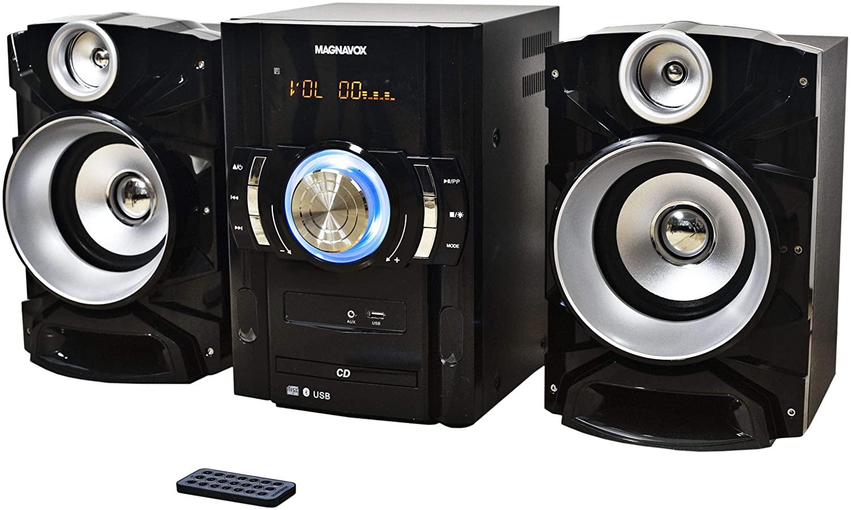 MAGNAVOX 3-PC SHELF-WIRLS-50W-FM-USB