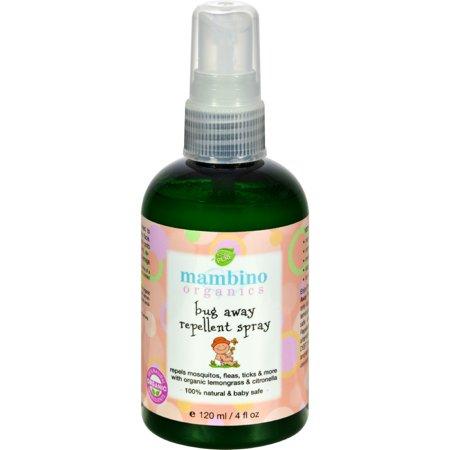 Mambino Organics Bug Away Insect Repellent Spray (4 fl Oz)