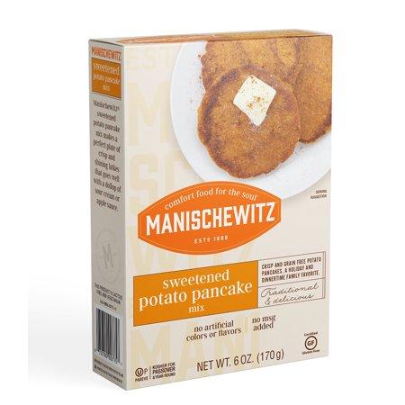 Manischewitz Pancake Sweet Potato Mix (12x6 Oz)