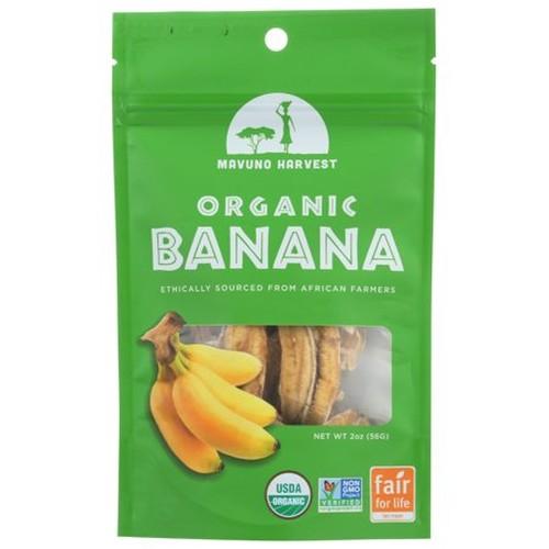 Mavuno Harvest Organic Gluten-Free Dried Banana (6x2 OZ)