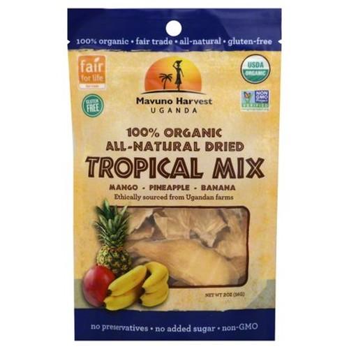 Mavuno Harvest Organic Dried Tropical Mix  (6x2 OZ)