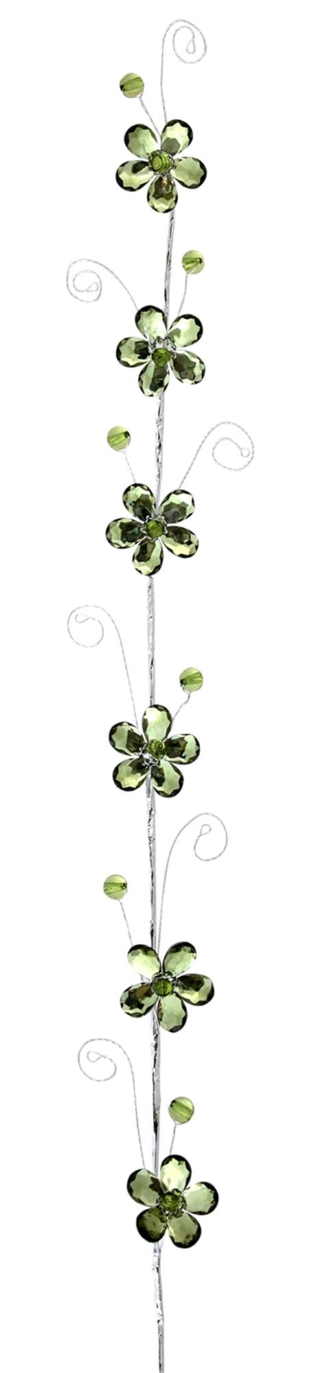 "Flower Garland (Set of 12) 30""L Acrylic"
