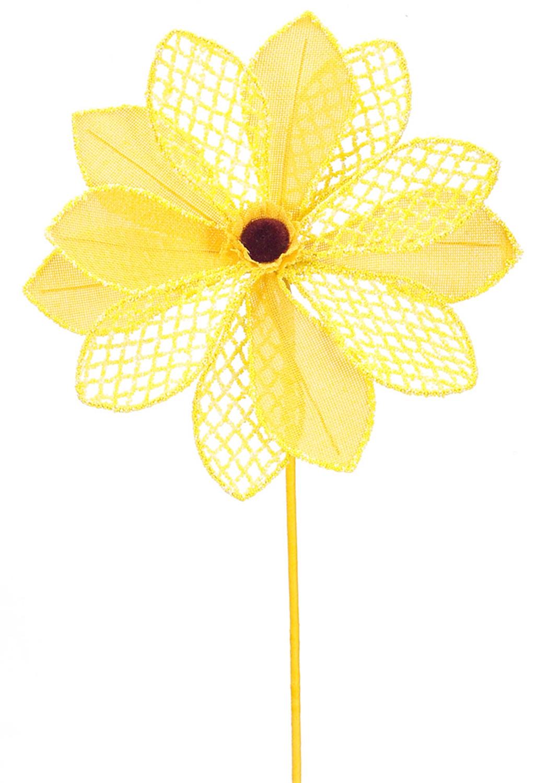 "Flower Stem (Set of 12) 26.5""H Burlap"