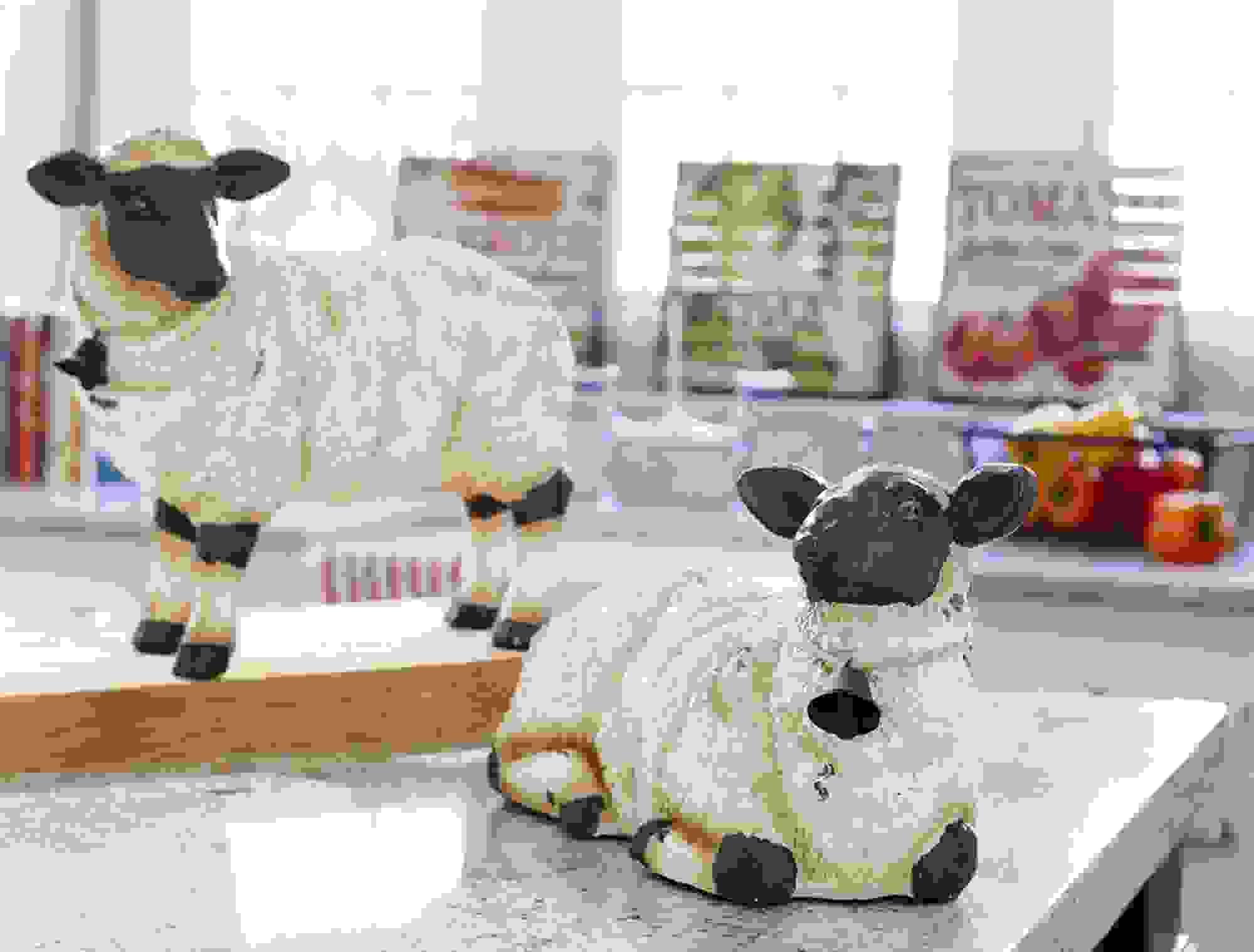 """Sheep (Set of 2) 9.5""""H, 14.75""""H Polyresin"""
