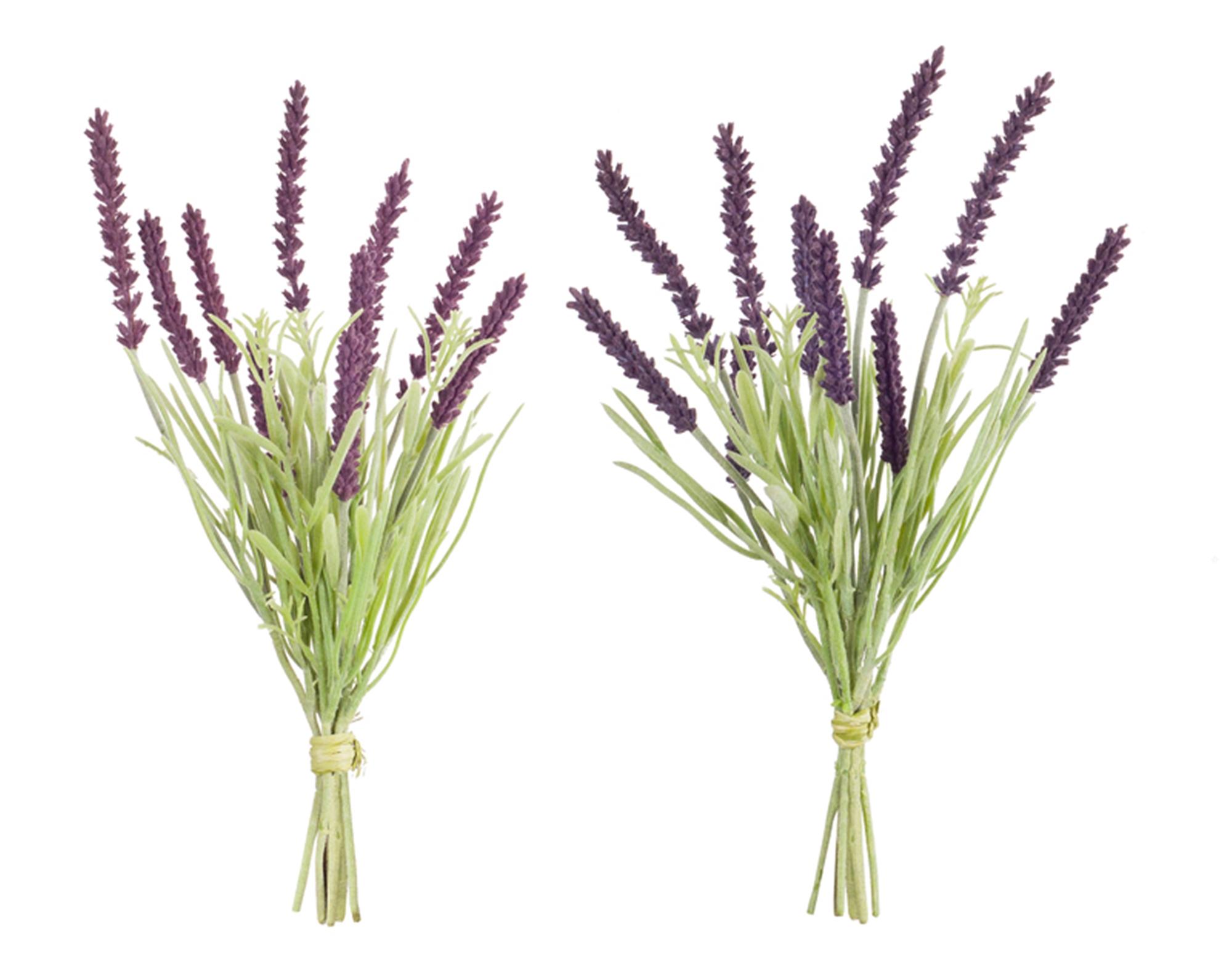 "Lavender Bundle (Set of 12) 10.5""H Plastic"
