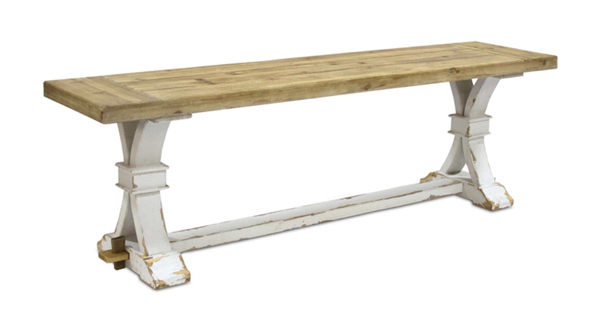 "Bench 59""x18.5""H Wood"